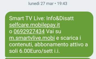 abbonamento 6 euro a settimana