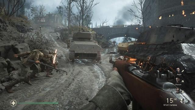 Imagem do Call of Duty: WWII