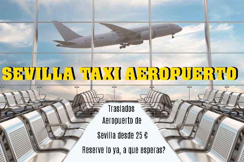 sevilla taxi aeropuerto