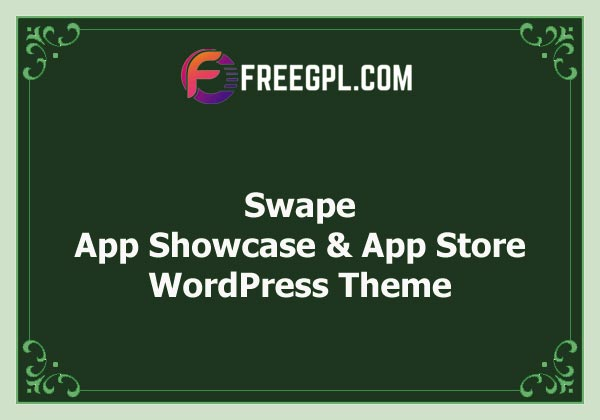 Swape - App Showcase & App Store WordPress Theme Nulled Download Free