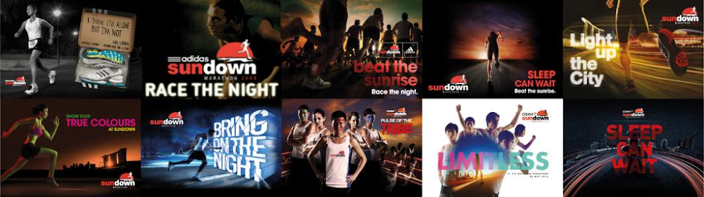Osim Sundown Marathon Singapore • 2018 Poster