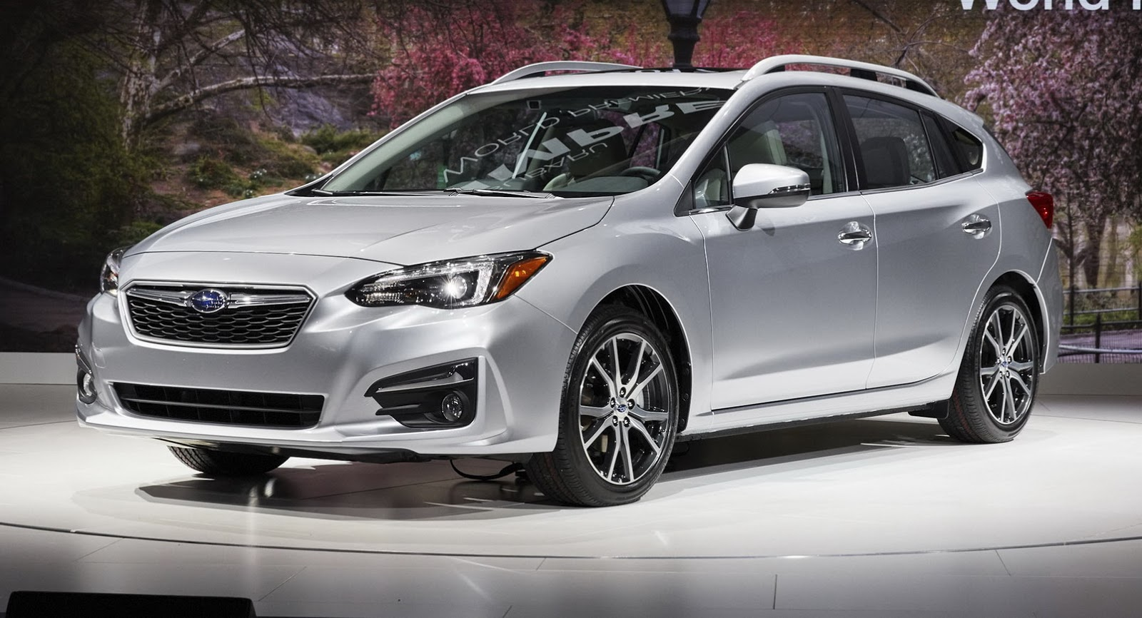 2017 Subaru Impreza Hatch Vs Concept