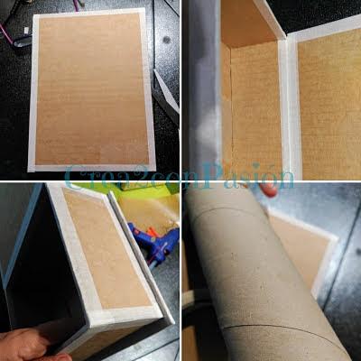 Caja-libro-cartonaje-y-decoupage-cartón-primeros-pasos-Crea2-con-pasión