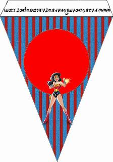 Imprimibles de Mujer Maravilla para imprimir gratis.
