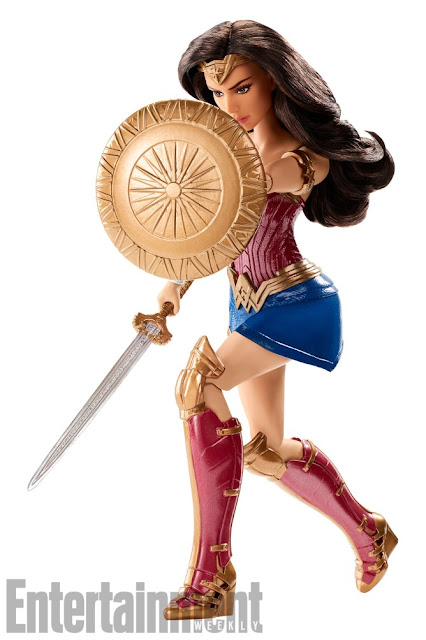 New Wonder Woman dolls from Mattel look amazing!