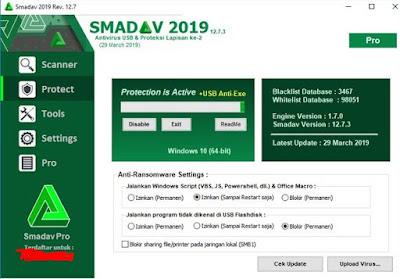 Antivirus Paling Banyak Pengguanya salah satuny adalah Smadav, smadav merupakan antivirus populer untuk indonesia
