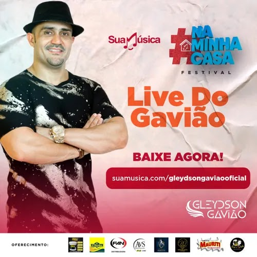 Gleydson Gavião - Live do Gavião - Maio - 2020