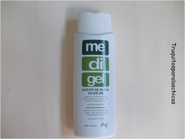 Medigel aceite de baño y ducha pieles atopicas