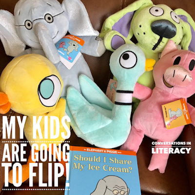 Mo Willems stuffed animals from Kohls