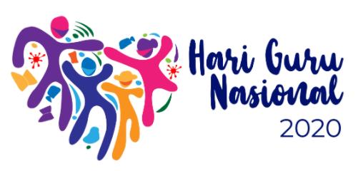 Logo Hari Guru Nasional 2020 File PNG