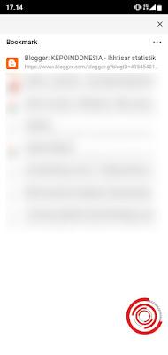 4. Jika sudah nantinya kalian akan langsung berada pada menu Bookmark Puffin Browser