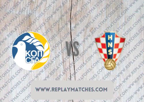 Cyprus vs Croatia Highlights 08 October 2021