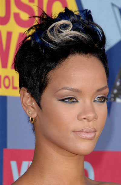 poisonyaoi rihanna short hairstyles