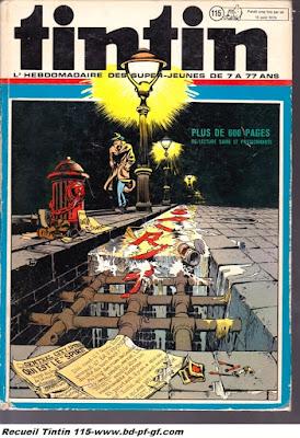Tintin recueil 115