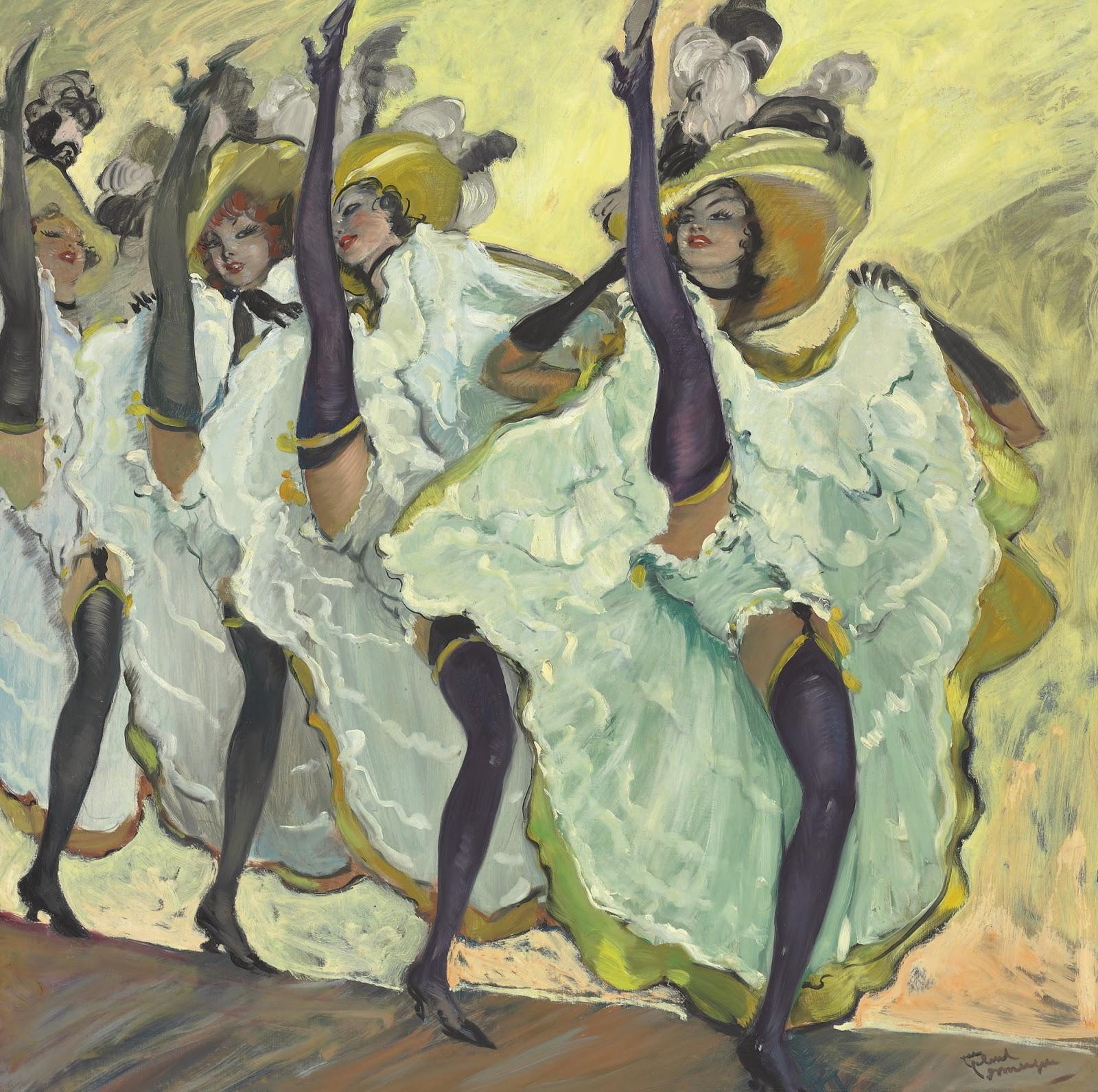 Jean Gabriel Domergue Les danseuses