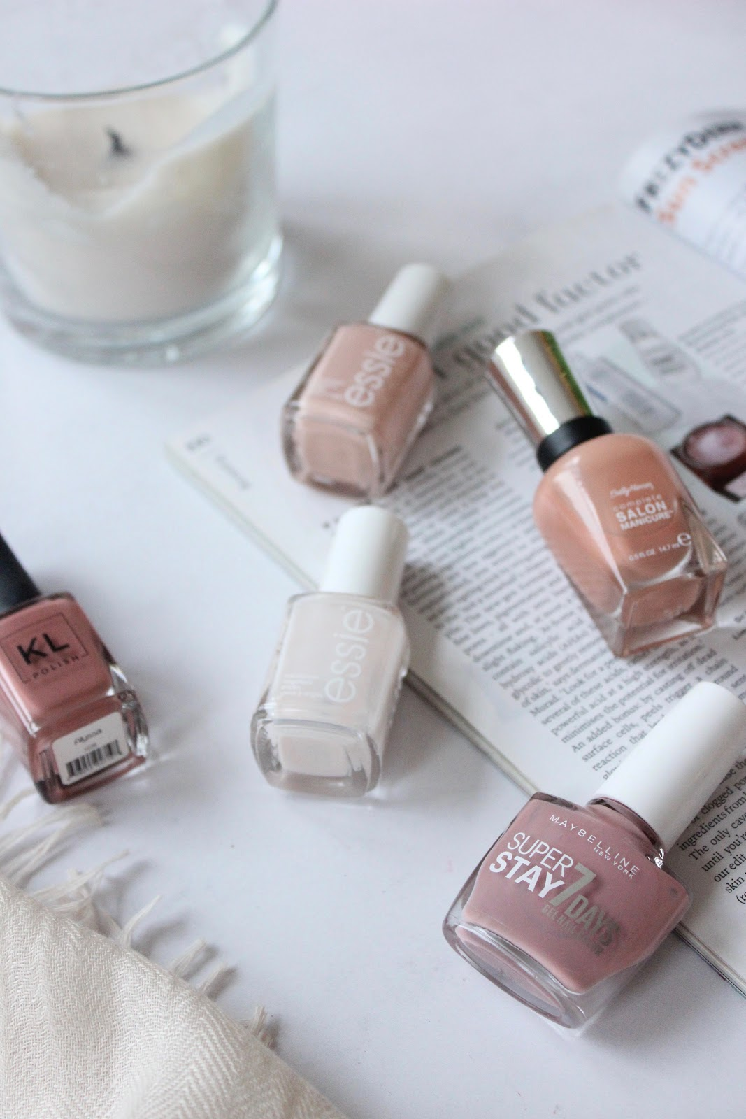 5 Nude Nails For Spring | IRIDESCENT PLACES