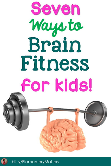 Seven Ways to Brain Fitness for Kids! Keeping the brain in good shape is essential, and here are seven ways to do just that!
