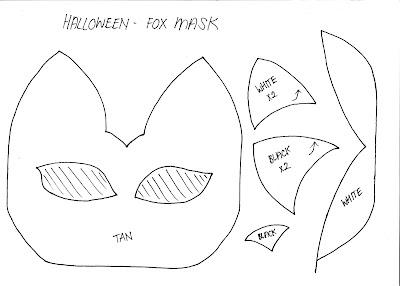StyleNovice: DIY Fox Mask + Template