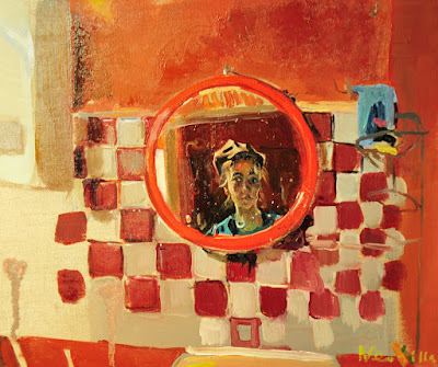 Self-Portrait in The Bathroom (2008), Neonilla Medvedeva