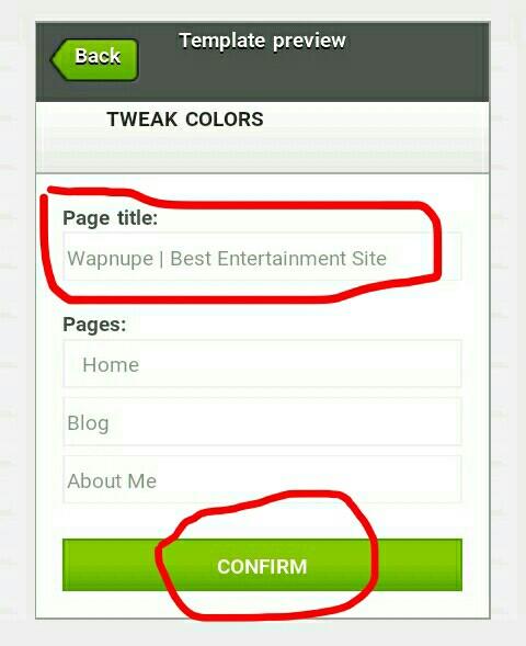 How to creat entertainment website on xtgem website step 2