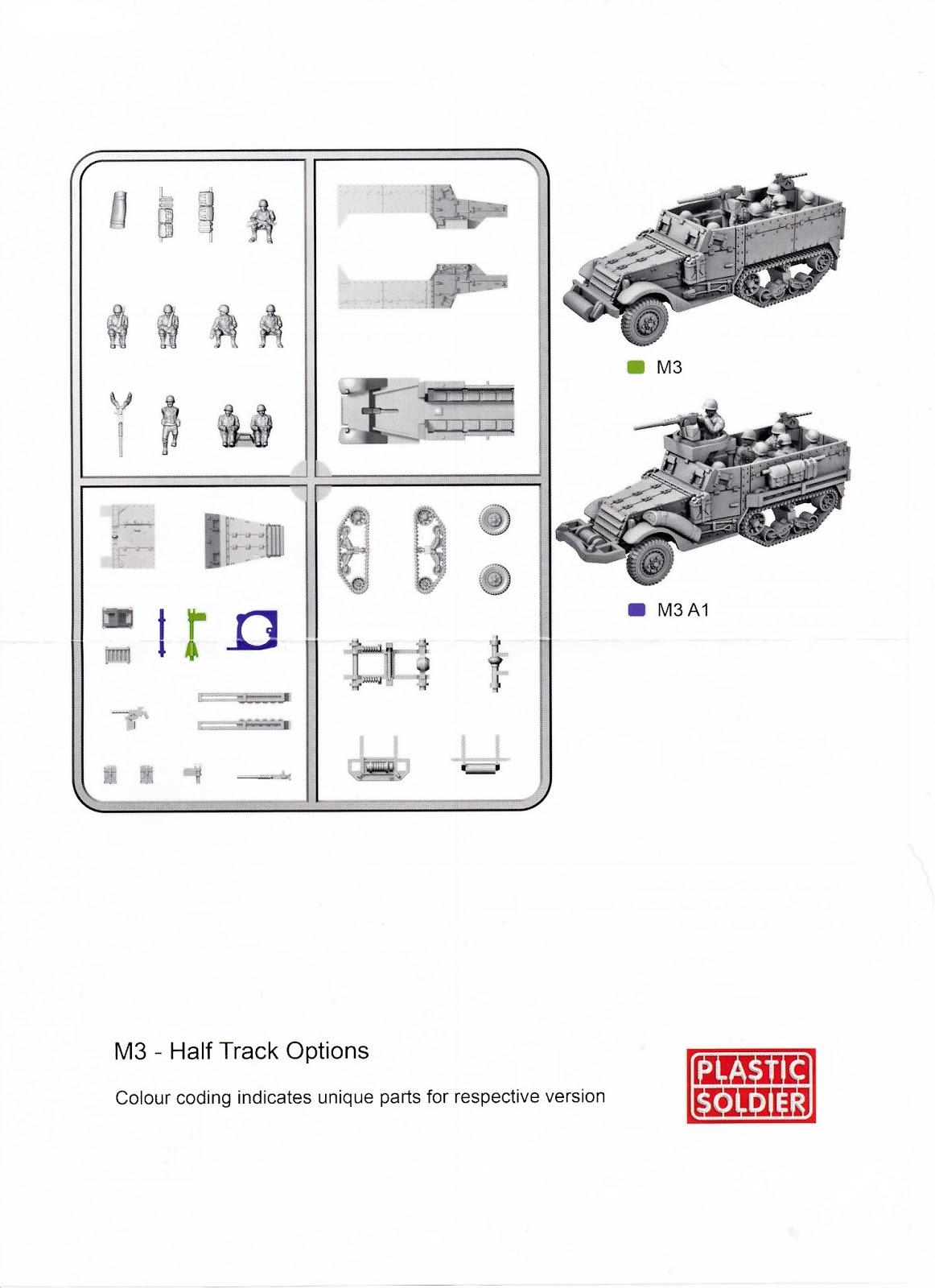 Oldsarges Wargame And Model Blog Review Of Psc M5 Half Tracks