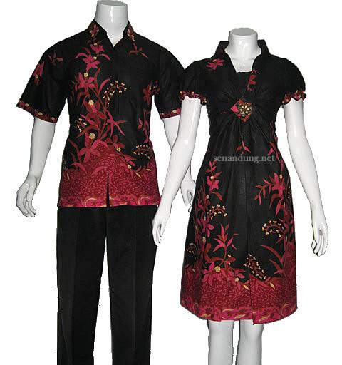 Desain Baju Batik Unik: Gambar Desain Baju Long Dres