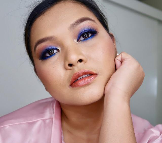 Heart Evangelista Cobalt Blue Eyeshadow Makeup Tutorial ...