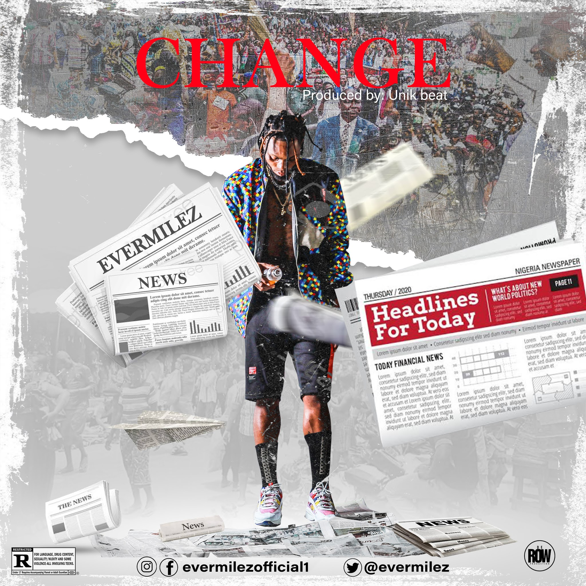 """Evermilez releases a brand new single titled """"Change"""" #Arewapublisize"""