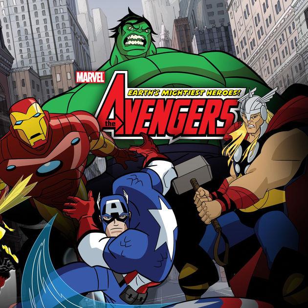 avengers earths mightiest heroes series download