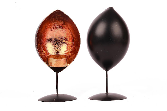 Pair of Standing Votive Holder- INR 599