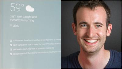 Max Braun ciptakan cermin pintar google