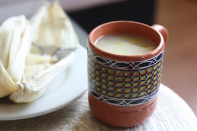 receta mexicana de atole con maiz