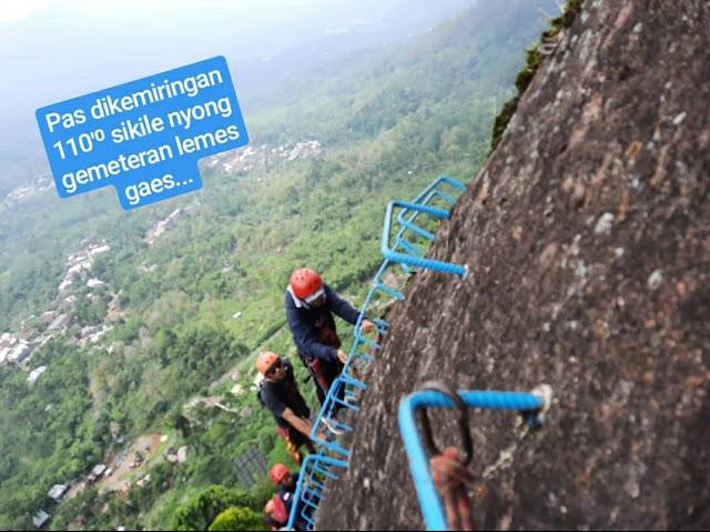 Stage 3 Via Ferrata Pemalang