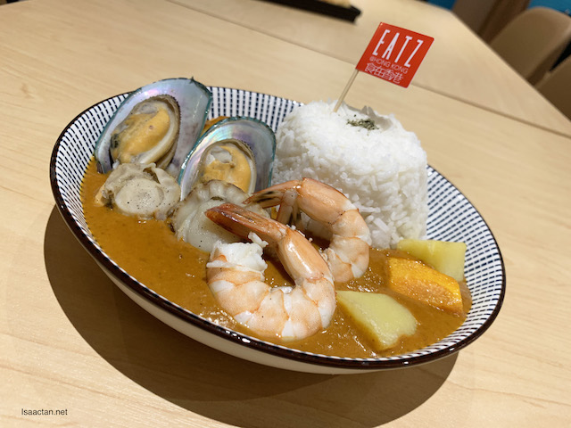 Curry Seafood Rice - RM26.80