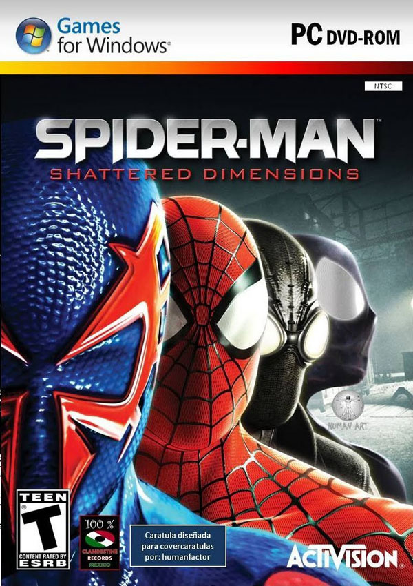 Spiderman Shattered Dimensions Download Cover Free Game