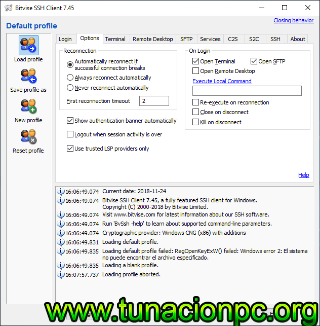 Descargar WinSCP full ingles