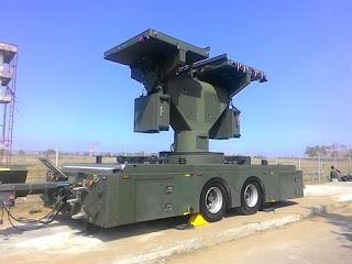 Radar baru Weibel MR2 di Satradar TNI AU 215 Congot
