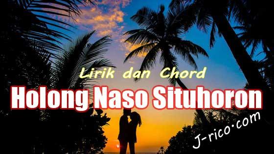 Chord Holong Naso Situhoron