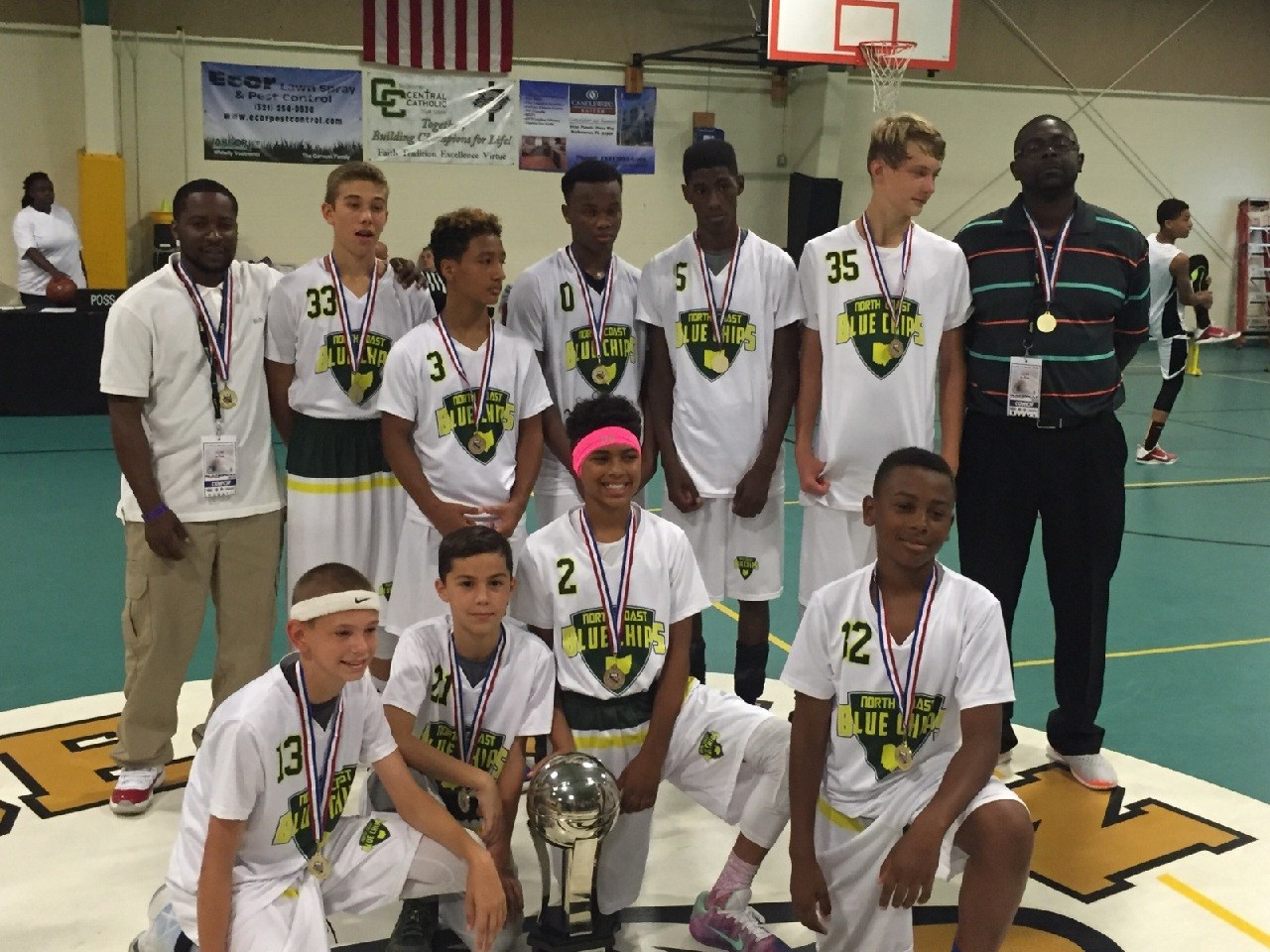 premium selection ced40 c32da North Coast Blue Chips Win Classic Bracket at AAU Nationals