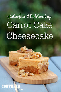 Gluten Free Carrot Cake Cheesecake Recipe
