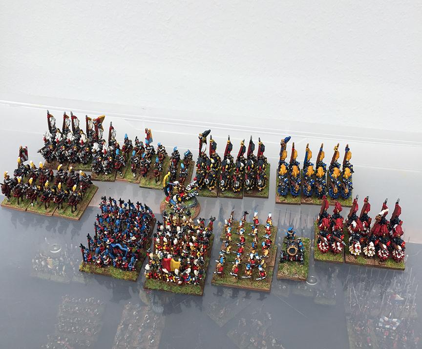 Warmaster Empire Siege Tower 10mm