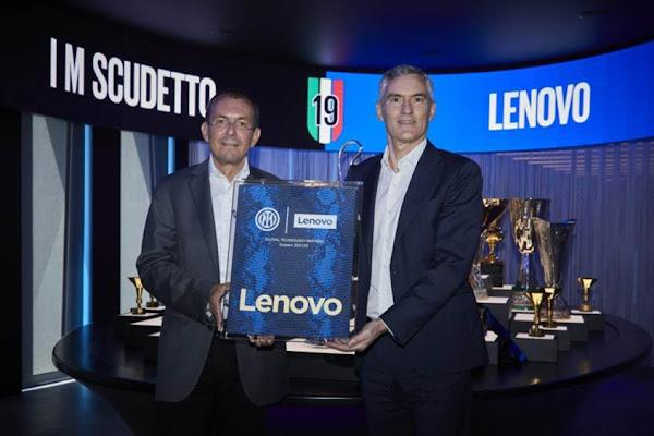 Lenovo e FC Internazionale Milano Reforçam Parceria Vencedora