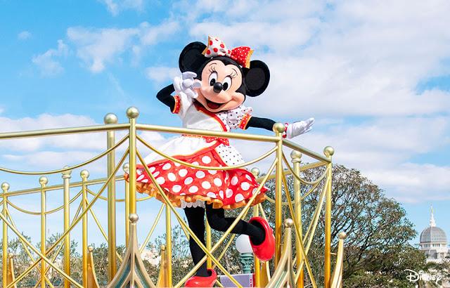 Very Very Minnie 主題 Mickey and Friends Greeting Parade 登陸 東京迪士尼樂園 Tokyo Disneyland