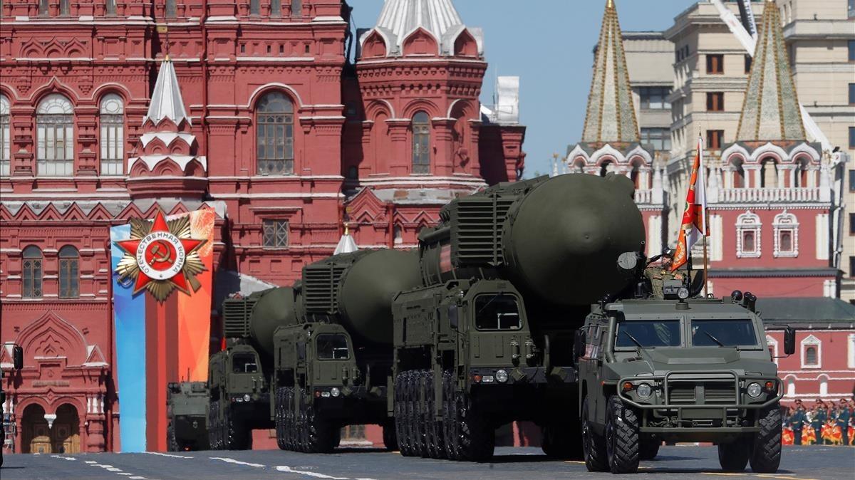 Rusia dispuesta a congelar, junto con EE.UU., el número de ojivas nucleares si Tratado START se prorroga por un año