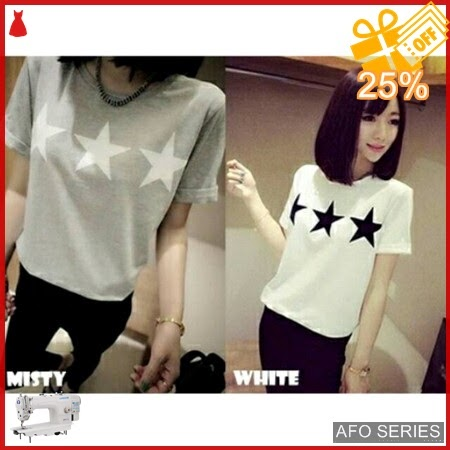 AFO572 Model Fashion Kaos Star Modis Murah BMGShop