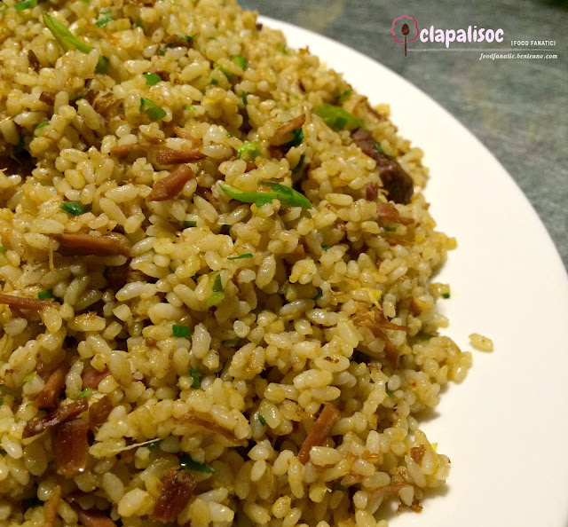 Fried Rice with Asparagus and Five Spice Pork