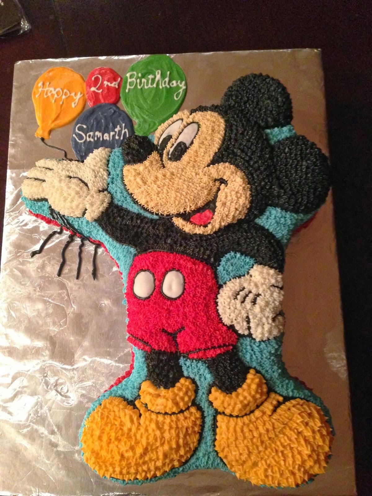Joyce Gourmet Mickey Mouse Birthday Cake