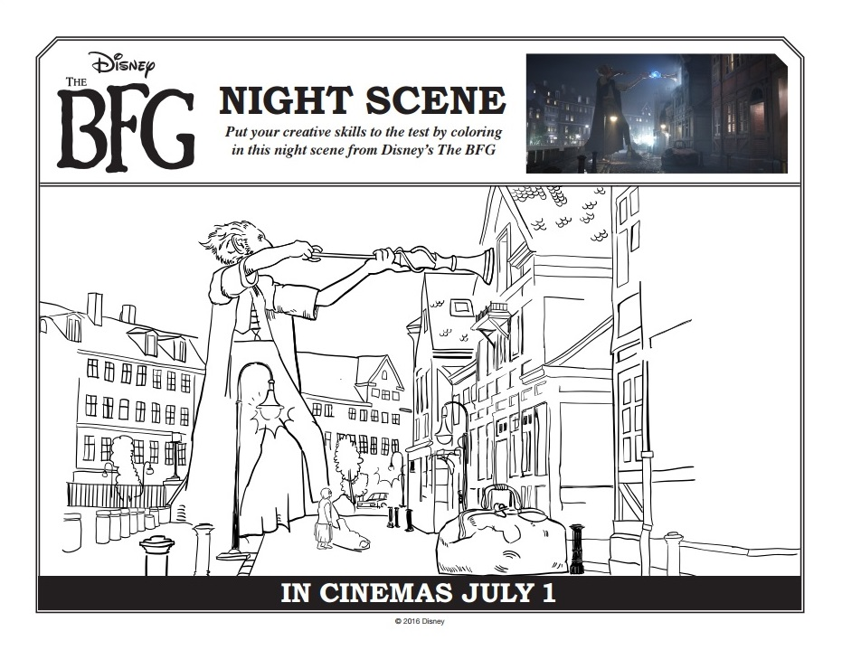 Mom Among Chaos: Disney's The BFG Review + Activities