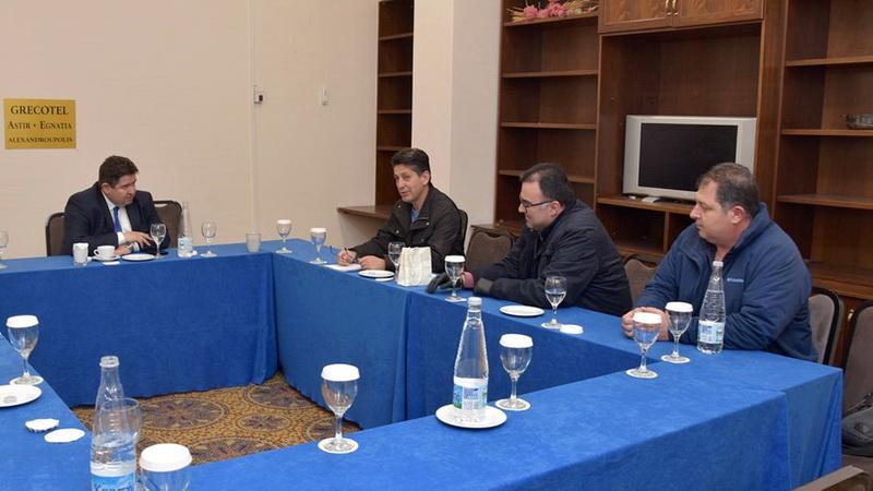 Συνάντηση αντιπροσωπείας αστυνομικών της Αλεξανδρούπολης με τον Αρχηγό της ΕΛ.ΑΣ.