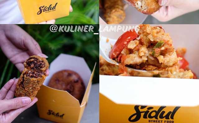 kuliner lampung sidul street food